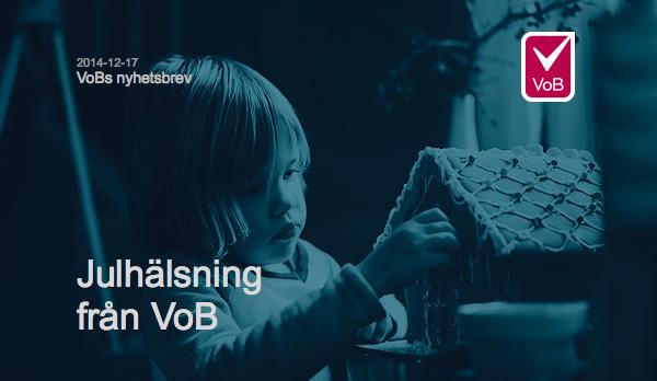 Julhälsning från VoB