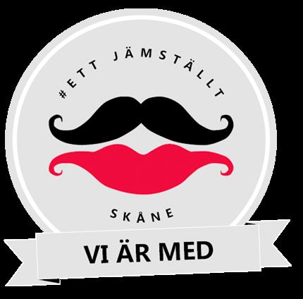 Logo - Ett jamstallt skane